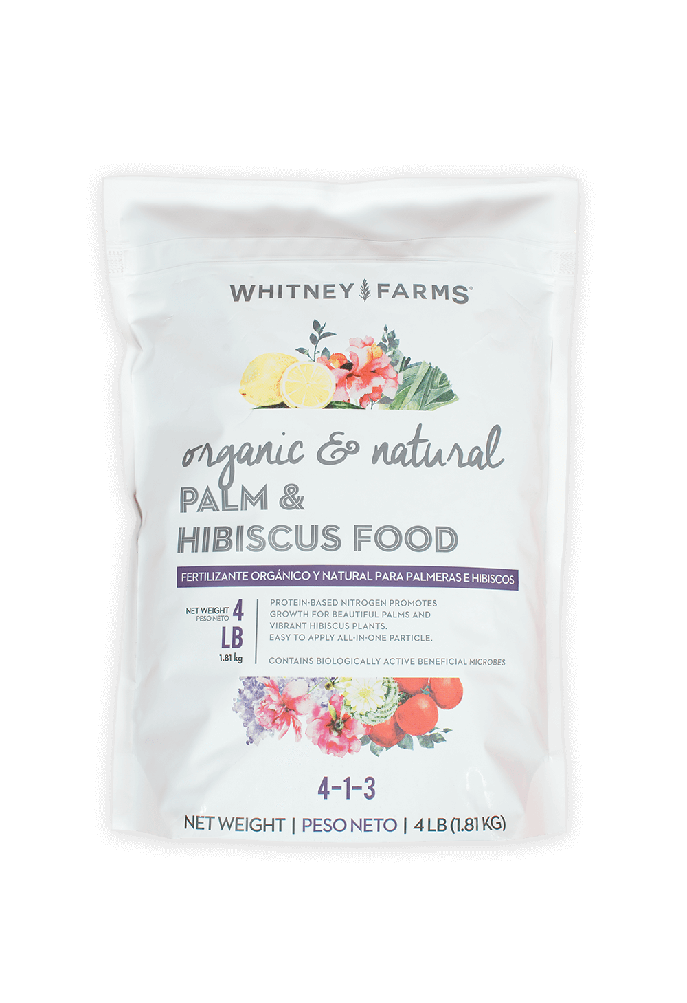 Palm & Hibiscus Food