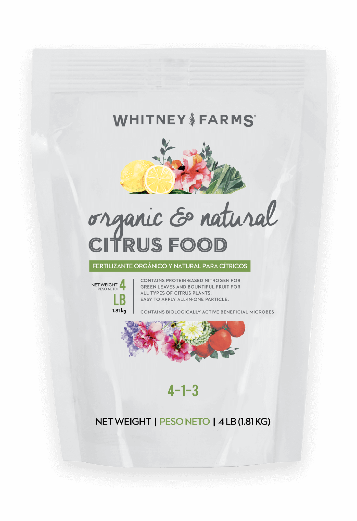 Whitney Farms Organic And Natural Citrus Food