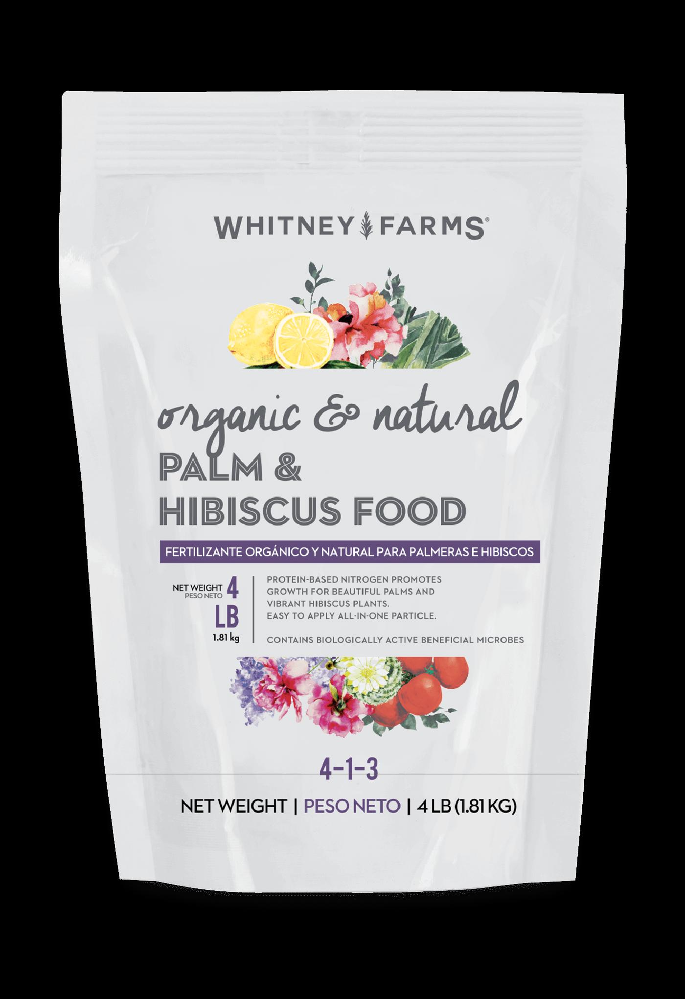 Palm & Hibiscus Food